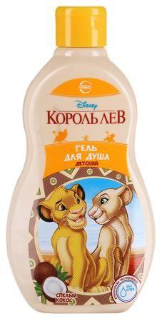 Гель д/душа DISNEY Король Лев 400мл Спелый кокос