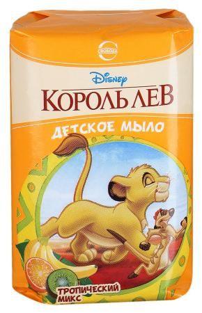 Мыло DISNEY Король Лев 100г Тропический микс