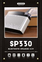 Колонка WK Design SP330 Radio Bluetooth Speaker беспроводная