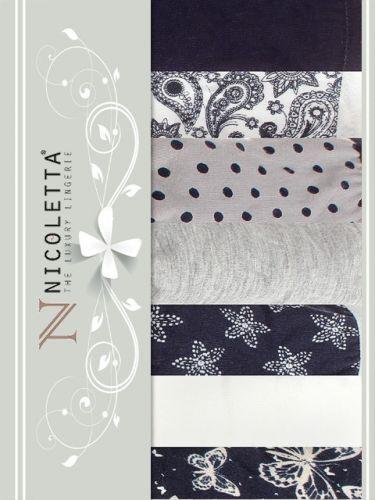 Трусы слипы, недельки женские Nicoletta S-XL / NTT13748