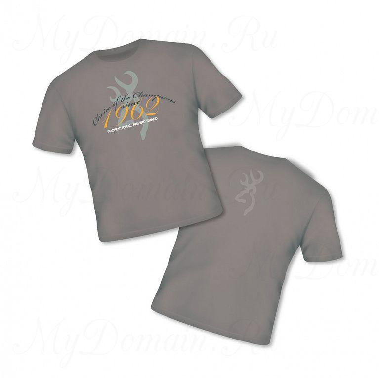 Футболка Browning Т-Shirt Classic бежевая размер L