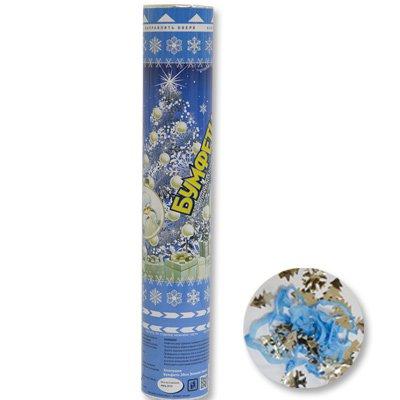 Хлопушка бумфети Зимняя сказка,30 см, 1 шт.