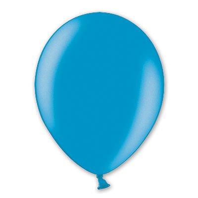 Надувной шарик В105 Металлик Cyan, 50 шт.