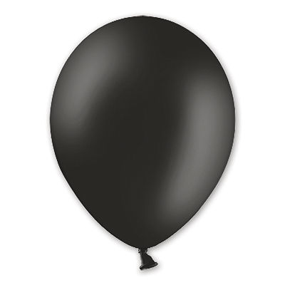 Надувной шарик В105 Пастель Black, 50 шт.