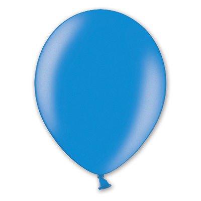 Надувной шарик В85 Металлик Blue, 50 шт.