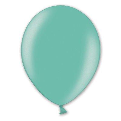 Надувной шарик В85 Металлик Green, 50 шт.