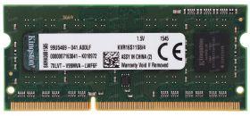 Модуль памяти Kingston DDR3 SODIMM 4GB KVR16S11S8/ 4