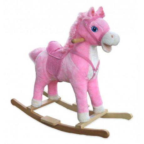 Качалка-Лошадка OSCAR (розовый)