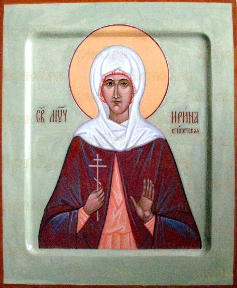 Ирина Египетская (икона на дереве)