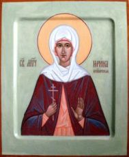 Икона Ирина Египетская