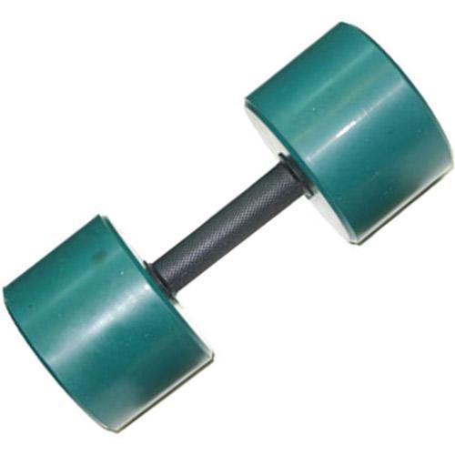 Гантель обрезиненная с обрезиненной ручкой 9 кг, цветная MB-FitC-9