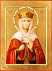 Ирина Македонская (икона на дереве)