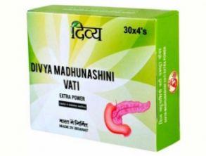 Мадхунашини Вати/Madhunashini Vati (диабет диабет I и II типов),120 таб