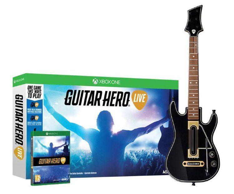 Guitar Hero Live (Гитара + игра) (Xbox One)