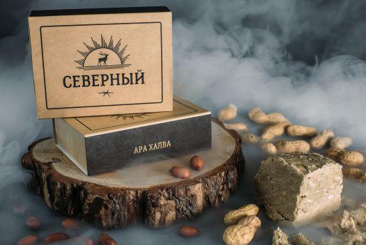 Табак для кальяна Северный - Арахис Халва