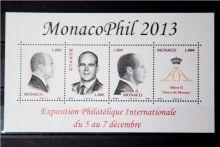 Почтовая открытка Monaco - MonacoPhil 2013