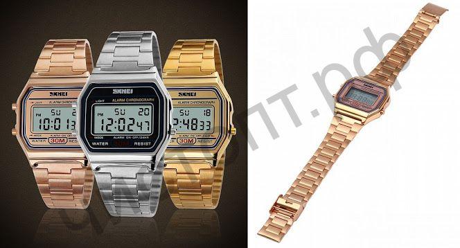 Часы наручные Skmei 1123 метал. браслет Высокое качество Водонепроницаемые !