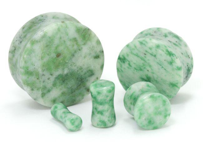Плаги зеленый мрамор