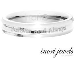 """Мужское кольцо Inori """"Всегда и навечно"""""""