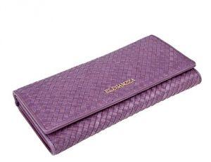Женский фиолетовый кошелёк
