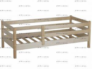 Кровать Кроха-1 массив (МХ), 60х140