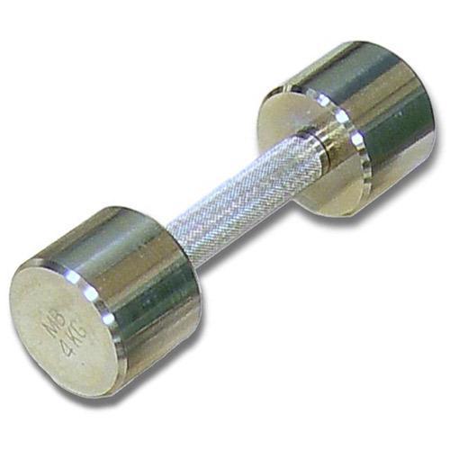 Гантель хромированная для фитнеса 4 кг MB-FitM-4