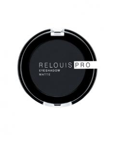 """""""RELOUIS"""" Тени """"Pro Eyeshadow Matte"""" тон 17, carbon  РБ753 17 К6"""
