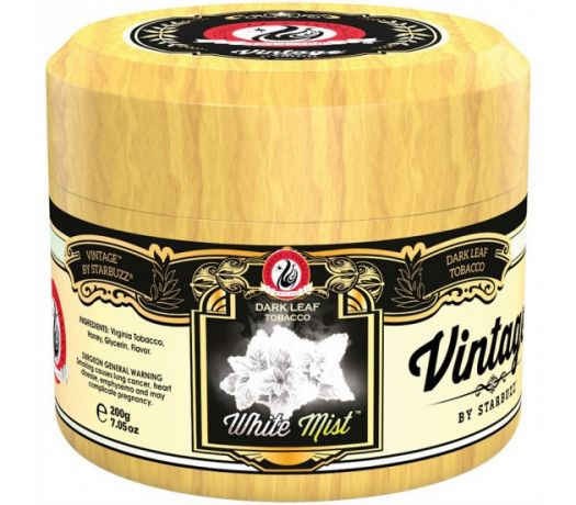 Табак для кальяна Starbuzz Vintage - White Mist (Белый Туман)