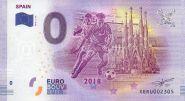ЧМ по футболу в России 0 евро 2018 г. Испания UNC