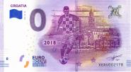 ЧМ по футболу в России 0 евро 2018 г. ХОРВАТИЯ UNC