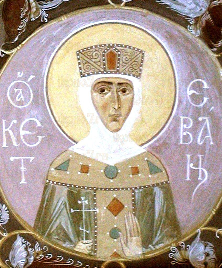 Икона Кетевана Кахетинская (копия старинной)