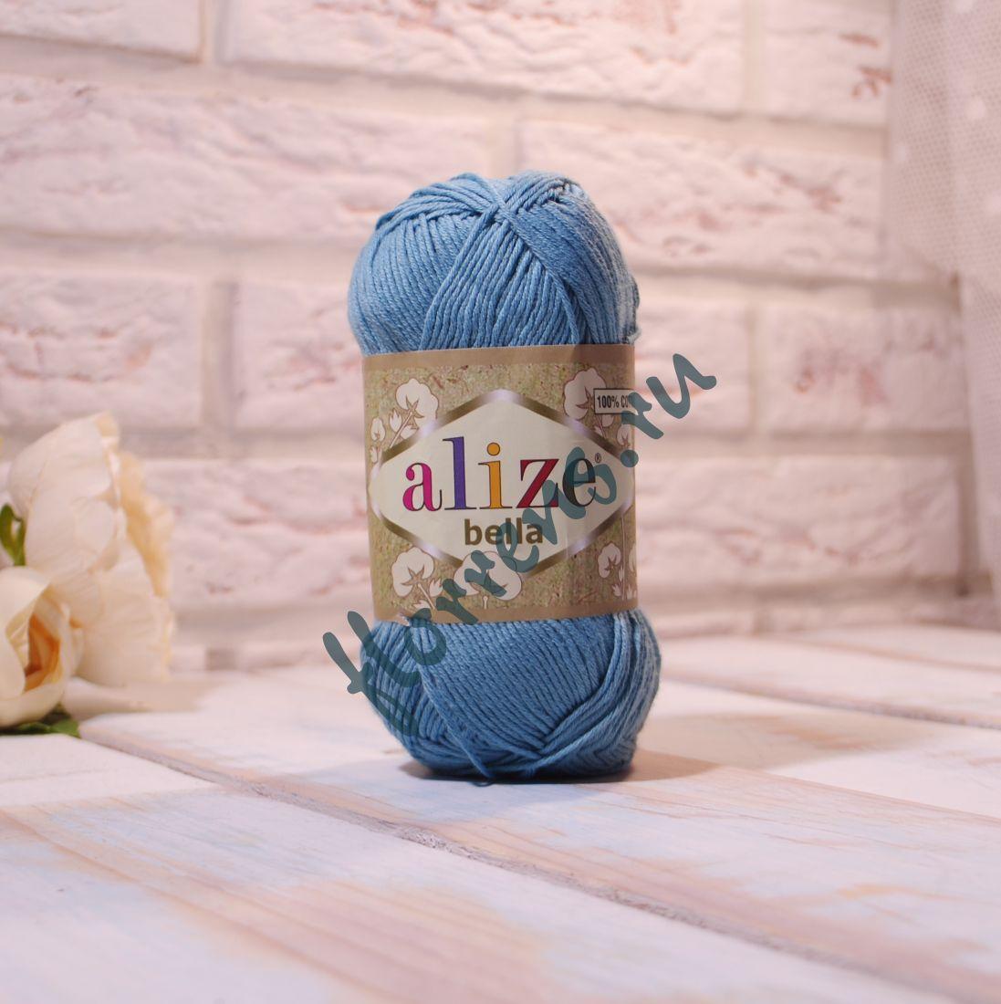 """Пряжа """"Alize"""" Bella / 462 лазурный"""