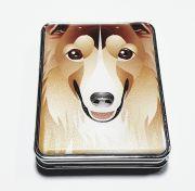 Зеркальце карманное Собачки