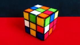 """Поролоновый """"Кубик Рубика"""" 7*7 см"""