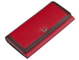 Красный женский кошелёк