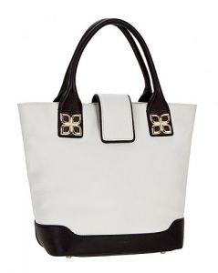 Чёрно-белая сумка