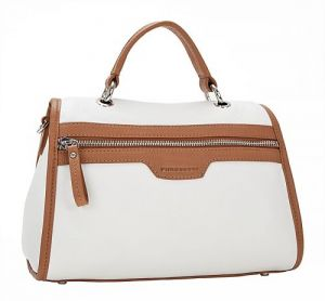 Белая итальянская сумка