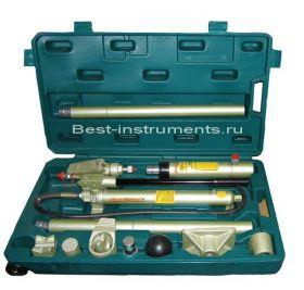 AE010015 Набор гидроинструмента 10т двухскоростной Jonnesway, 18 предметов