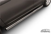 Защита штатных порогов, SL-Arb, сталь ф 57мм
