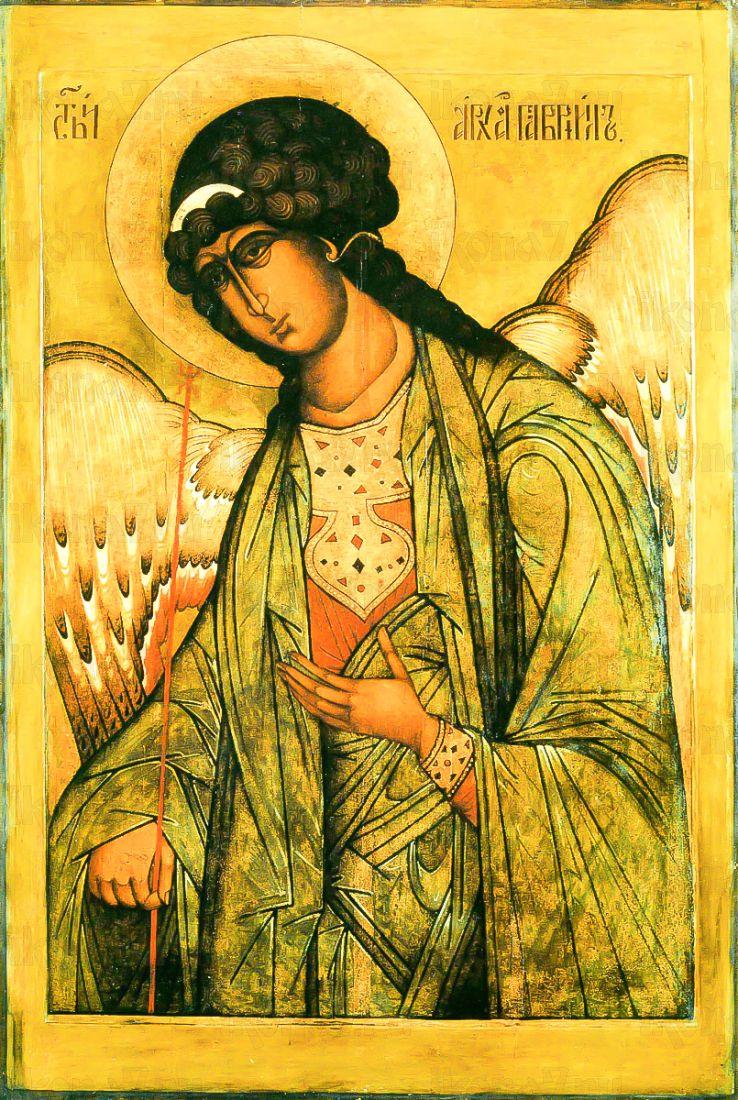 Икона Гавриил Архангел (копия 16 века)