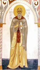 Игнатий Ломский (икона на дереве)