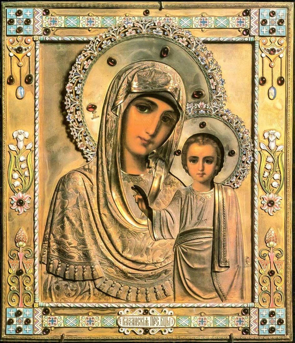 Казанская икона Божией Матери (копия старинной)