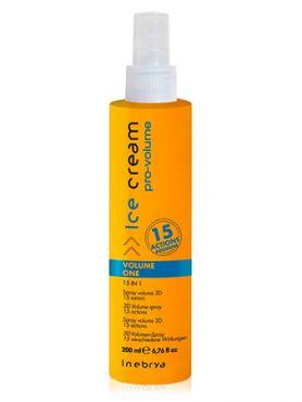 Inebrya Pro Volume  Спрей для защиты и объема волос 15 в 1