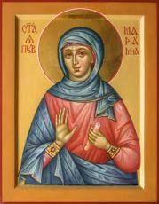 Мариамна Праведная (икона на дереве)