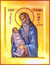Икона Стилиан Пафлагонский