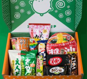Японский рамен & Японские сладости MIX набор (9 товаров)