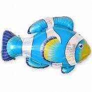 """Рыба-клоун, голубой, 35""""/ 89 см"""