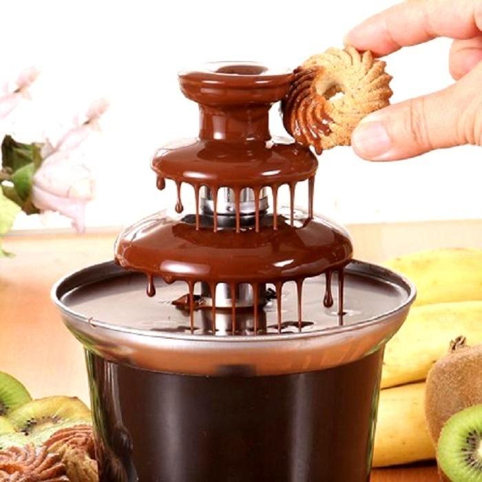 Шоколадный Фонтан Chocolate Fondue Fountain Mini  2 Яруса