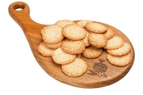 ..Печенье Кукис с кунжутом 0,600кг СвитХоум