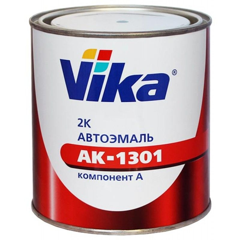 Vika (Вика) 601 чёрная, акриловая эмаль АК-1301, 800мл.